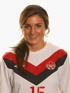 "CHRISTINA JULIEN: is a Canadian women's soccer striker who plays for German club FF USV Jena and the Canada women's national soccer team. She played in both the FIFA World Cup & Pan Am Games in '11! She even brought home gold in the Pan Am's! ""I use Bits before every soccer practice and game to give me the energy to compete at 100% every time I step on the field. They supply the energy boost I need to get what I what to get done and then some!"" #teambits"