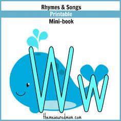 Rhymes for Letter W