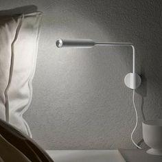 Vibia, Swing, licht, verlichting, lamp, leeslamp, slaapkamer, wandlamp ...