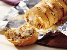 Grilled Stuffed French Bread