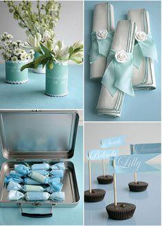 DIY Tiffany Blue ideas