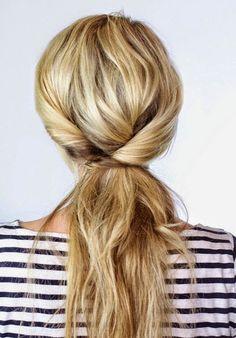 I want pretty: #Hair- Diferentes ideas de #colasdecaballo/ #Ponytails ideas!