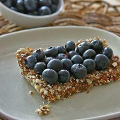 No Bake Blueberry Bars