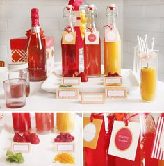 brunches, brunch idea, mothersday, mothers day, drink, bridal shower, mimosas, mimosa bar, parti