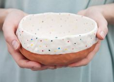 Terracotta serving bowl от Baskakova на Etsy