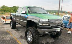 lifted Chevrolet Sierra truck