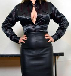 satin cloth, silk satin, sexi blous, shini black