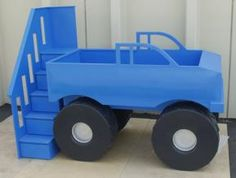 monster truck bed