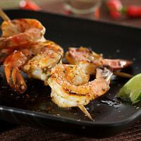 Tequila Lime Grilled Shrimp