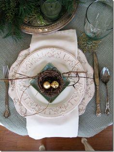 Nest Table Setting