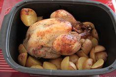 Mon poulet rôti des soirs de flemme (cocotte Ultrapro Tupperware)