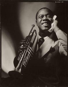 Louis Armstrong | Photograph: Anton Bruehl - nga.gov.au/...