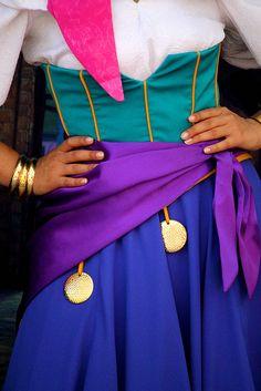 Cool Esmeralda costume detail. Long Lost Friends Week (April 9), photo by #RachelElaine
