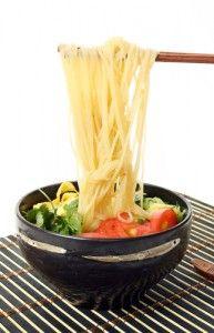 Dr Oz: Seared Salmon Ramen Recipe  Rice Noodle