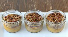 Pumpkin Pecan Dessert {in a jar} » Glorious Treats