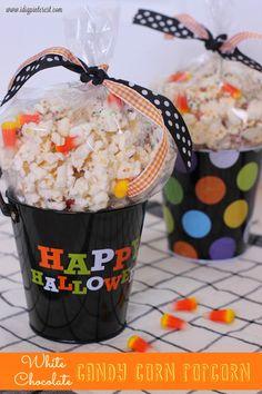 I Dig Pinterest: White Chocolate Candy Corn Popcorn