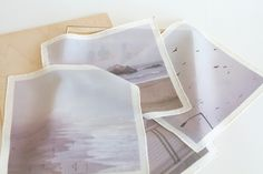 ooh! photos printed on handkerchiefs / by Elisa Maezono