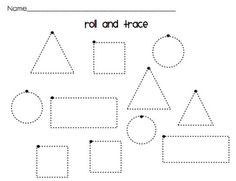 """Roll and Trace"" Activity"