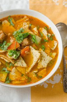 Recipe: Fast & Easy Turkey Tortilla Soup Recipes from The Kitchn | The Kitchn