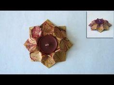 Origami Instructions: Star Bowl (Dáša Ševerová) - YouTube
