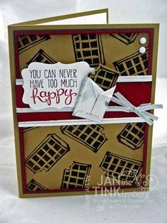 Can't wait to carve my own Undefined stamp from Stampin Up! (This one  sketched and carved by Jan Tinklenberg) .  http://www.stampinup.com/ECWeb/ProductDetails.aspx?productID=133402