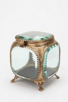 Beveled Glass Jewelry Box  #UrbanOutfitters