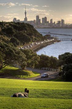 #Vacation #Auckland, #NewZealand  sunset - Aaron Schmidt