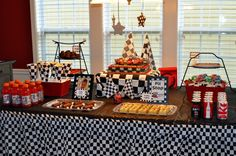 werdyab: Race Car Birthday Party