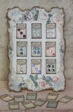 button display