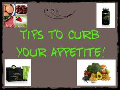 How Do I Curb My Appetite?
