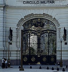 Circulo Militar Front Door