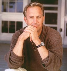 Kevin Costner ~ I saw him in the 1980s at a little restaurant called THE ROCKY COLA CAFE in Montrose, California.  He was so natural--actually somewhat shy...very handsome.