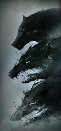 inspi illustr, fantasi, hunger is a monster, monsters illustration