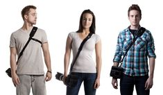 Camera strap to check out