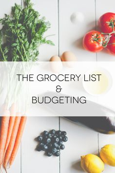Grocery shopping is easy for some people, but I suck at it ill need these tips for when me and josh move in together :)