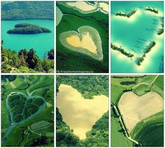 Amazing giant hearts found in nature