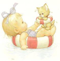 Cute Ilustraciones de Bebés y Niños morehead, Constanza , las más lindas imágenes baby bautismos cumpleaños bebes kids niñas niños