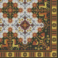 Gallery.ru / Фото #17 - Подушки - natamalin cross stich, cross stitch