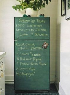 Ten Ways To Use Blackboard Paint At Your Place