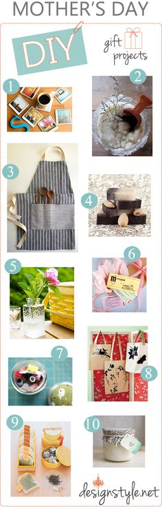 Great Mother's Day DIY Gift Ideas!