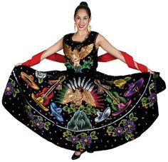folklorico dresses