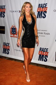 Kym Johnson of Dancing with the Stars on the red carpet at the Hyatt Regency Century Plaza for MS Event. Love this hotel.