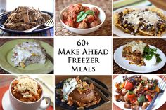 Barefeet In The Kitchen: 60+ Make-Ahead Freezer Meals