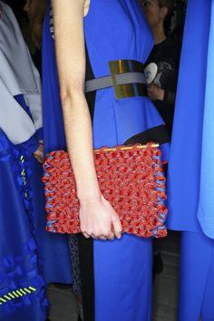 Backstage  Roksanda Ilinic Fall 2014  Photographed by Sonny Vandevelde find more women fashion ideas on www.misspool.com