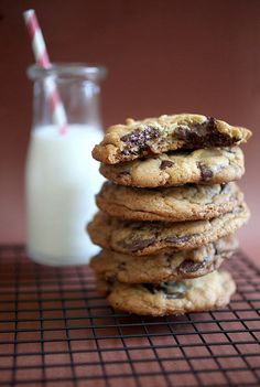 Jacques Torres' Chocolate Chip Cookies by Bakerella
