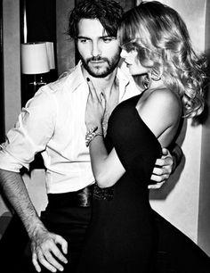 Maybe Eva with Brett ;-)