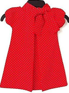 Petit Tresor Red Audrey Dress $54.00