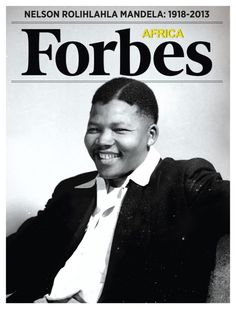 Nelson Mandela on the cover of Forbes Africa  Magazine