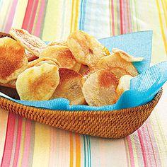 Homemade Potato Chips   MyRecipes.com