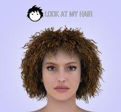 Crispy hair preset for Genesis crispi hair, hair preset